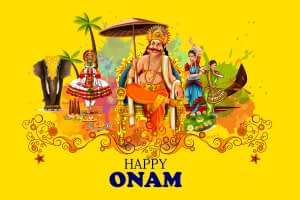 Happy Onam Festival Spreading Joy And Happiness
