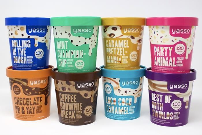 Yasso low calorie ice cream