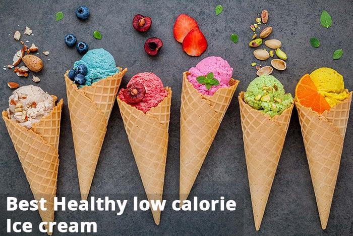 Best Healthy low-calorie Ice cream