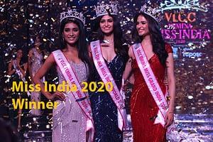 Miss India 2020 Winner Manasa Varanasi